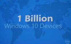 Microsoft: 3 năm để thống trị thế giới với 1 tỷ thiết bị chạy Windows 10