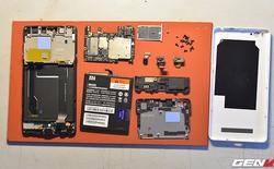 Mổ bụng Xiaomi Mi 4c: Vỏ không phải nguyên khối...