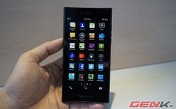 Cận cảnh smartphone BlackBerry Leap tại Việt Nam: quyến rũ kiểu Dâu đen