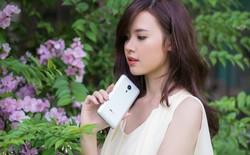 Ngắm hotgirl Midu dịu dàng bên Meizu MX 5