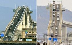 Chiêm ngưỡng cây cầu xây dựng theo phong cách tàu lượn siêu tốc