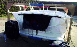 Túi Bay - vật dụng sẽ bảo vệ máy bay khỏi những vụ đánh bom