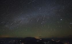 Cực điểm mưa sao băng Geminids 2015 vào đêm nay và rạng sáng 2 ngày tiếp theo