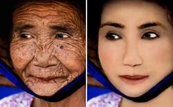 [Video] Cụ già trăm tuổi hóa cô gái đôi mươi nhờ... Photoshop