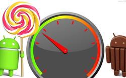 Android 5.0 Lollipop giúp tăng hiệu năng của các siêu di động