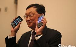"""CEO BlackBerry bất ngờ """"ngọt ngào"""" với T-Mobile trên mạng xã hội Twitter"""