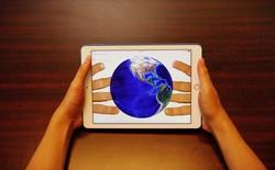Vỏ bảo vệ biến mặt sau smartphone, tablet thành màn cảm ứng