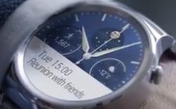 Huawei giới thiệu smartwatch mới tại MWC 2015 long lanh như đồ hiệu