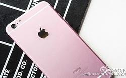 Lộ diện ảnh thực tế iPhone 6s màu hồng
