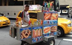 Tại New York, bạn phải nộp phí 4,5 tỷ đồng để bán hot dog giá 40 nghìn đồng