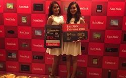 SanDisk ra mắt thẻ nhớ SD dung lượng 512 GB, tốc độ 95 MB/s, giá 18 triệu đồng
