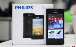 Mở hộp Philips S309: smartphone phổ thông giá dưới 1,6 triệu đồng