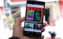 Mở hộp smartphone màn hình cong LG Flex 2 tại Việt Nam