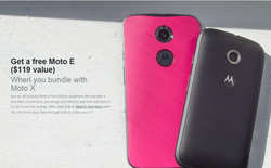 Motorola tung chiến dịch mua Moto X tặng kèm Moto E