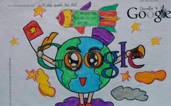 Trẻ em Việt Nam cũng tham gia vẽ tranh trên Doodle 4 Google