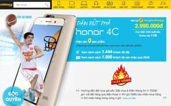Honor 4C lập kỷ lục mới với tốc độ tiêu thụ tính bằng giây