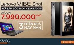 3 lý do khiến giới công nghệ háo hức chờ mua Lenovo Vibe Shot lúc 11 giờ trưa nay