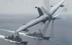 Một loại Drone mới có thể biến bất cứ con tàu nào thành tàu sân bay