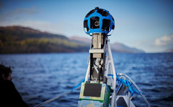 """Google mang Street View, quyết tâm truy tìm """"quái vật hồ Loch Ness"""""""