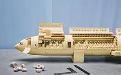 [Video] Mô hình cực chi tiết của máy bay A380s được dựng hoàn toàn bằng giấy