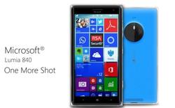 Ý tưởng thiết kế Microsoft Lumia 840: mỏng, nhẹ, mạnh mẽ