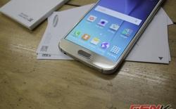 Cận cảnh phiên bản Galaxy S6 hai SIM giá 19 triệu đồng tại Việt Nam