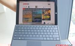 """Cận cảnh máy tính bảng Surface 3 tại VN: """"sang chảnh"""" kiểu công sở"""