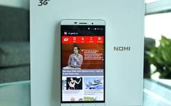 """Cận cảnh smartphone Nomi 3S: thiết kế sang trọng, màn hình """"đập đá"""""""