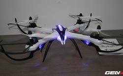 """Mở hộp Drone """"đồ chơi"""" giá 1,5 triệu - Máy bay giá rẻ cho các """"phi công trẻ"""""""