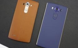 So sánh nhanh LG G4 và LG V10: thêm nhiều cải tiến đáng giá