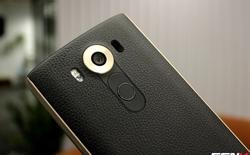 LG V10 nắp lưng da: Chiếc Vertu đen của LG tại Việt Nam