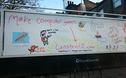 Đây chắc chắn là tấm pano quảng cáo lớn nhất thế giới được vẽ bằng MS Paint