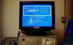 Hệ thống máy tính từ những năm 1980 vẫn được sử dụng cho kiểm tra lái xe ở Tây Ban Nha