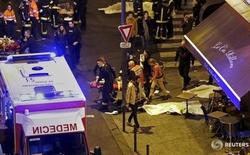 Chấn động: 6 vụ tấn công liên hoàn, 3 vụ nổ ở Paris, hơn 128 người thiệt mạng