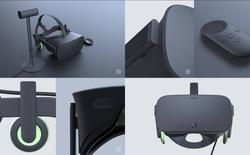 Lộ thông tin về chiếc tay cầm thực tế ảo mới của Oculus