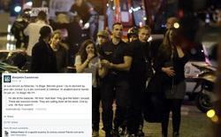 Con tin của vụ khủng bố Paris cập nhật tình hình bên trong thông qua Facebook