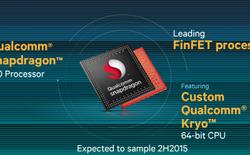Qualcomm Snapdragon 820 sử dụng lõi Kyro 3.0 GHz