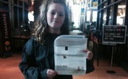 Cô bé 9 tuổi giành quyền tham dự cuộc thi robot vốn chỉ dành cho nam giới