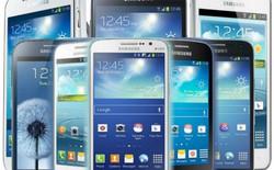 Mảng smartphone của Samsung giậm chân tại chỗ trong năm 2014 do Apple