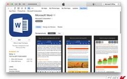 Microsoft Office có mặt trên App Store Việt Nam, tải về miễn phí