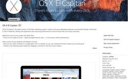 Apple chính thức tung ra OS X El Capitan, cập nhật iOS 9.0.2