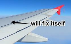 """Cánh máy bay sẽ có khả năng """"tự liền""""?"""