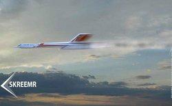 """Xuất hiện ý tưởng về """"siêu máy bay"""" di chuyển từ Hà Nội tới thành phố Hồ Chí Minh trong vòng 5 phút"""