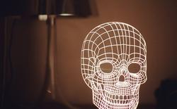 Bulbing Lamps - đèn LED 3D tạo ra ánh sáng từ ảo giác quang học