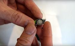 Chế tạo cưa máy nhỏ hơn đầu ngón tay bằng máy in 3D
