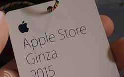 """Xếp hàng nhận """"lì xì"""" của Apple, người dân Nhật Bản quyết chống chọi mưa tuyết"""