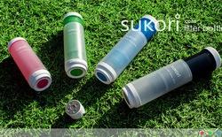 Sử dụng nước sạch ở bất kỳ nơi nào với Sukori Water Bottle