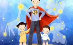 [Ảnh GIF] Khi bố là siêu nhân...