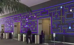 Bức tường Pacman khổng lồ tại trụ sở Salesforce
