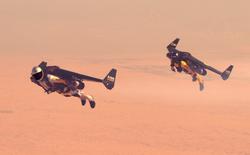 Chiêm ngưỡng màn bay lộn giữa Dubai bằng jetpack